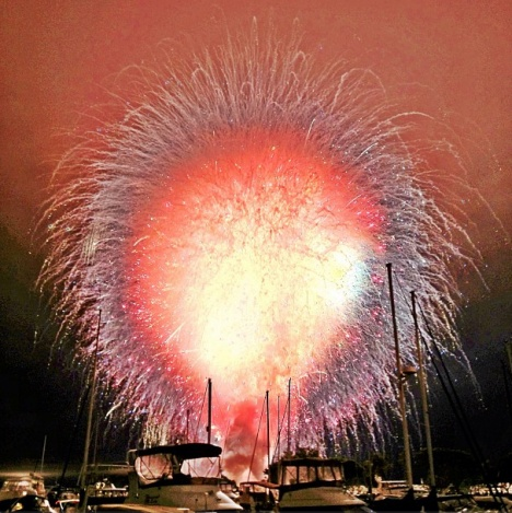 San Diego set off all its fireworks at once, and HOLY CRAP IT LOOKED AMAZING