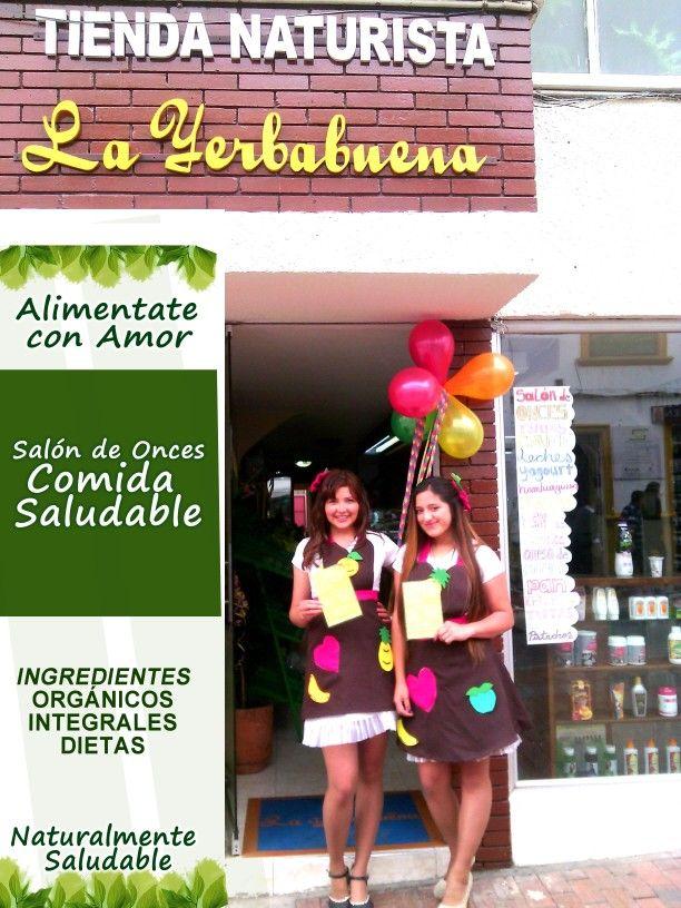 Salón de onces saludable en Tunja, Colombia.
