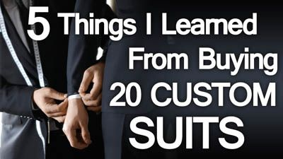 5 Lessons Learned Buying 20 Custom Suits In 10 Days