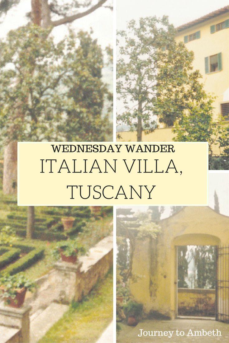 A gorgeous Italian villa in Tuscany