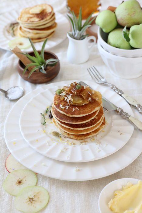... | Gingerbread pancakes, Buttermilk pancakes and Scottish pancakes