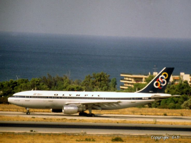 Olympic Airways Airbus A300B4-103 (Nestor) [SX-BEE], 1983 Athens Hellinikon airport