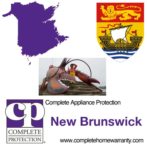New Brunswick Home Warranty - Complete Appliance Protection - Best Home Warranty Reviews - Call 1-800-978-2022 today - New Brunswick Home Warranty