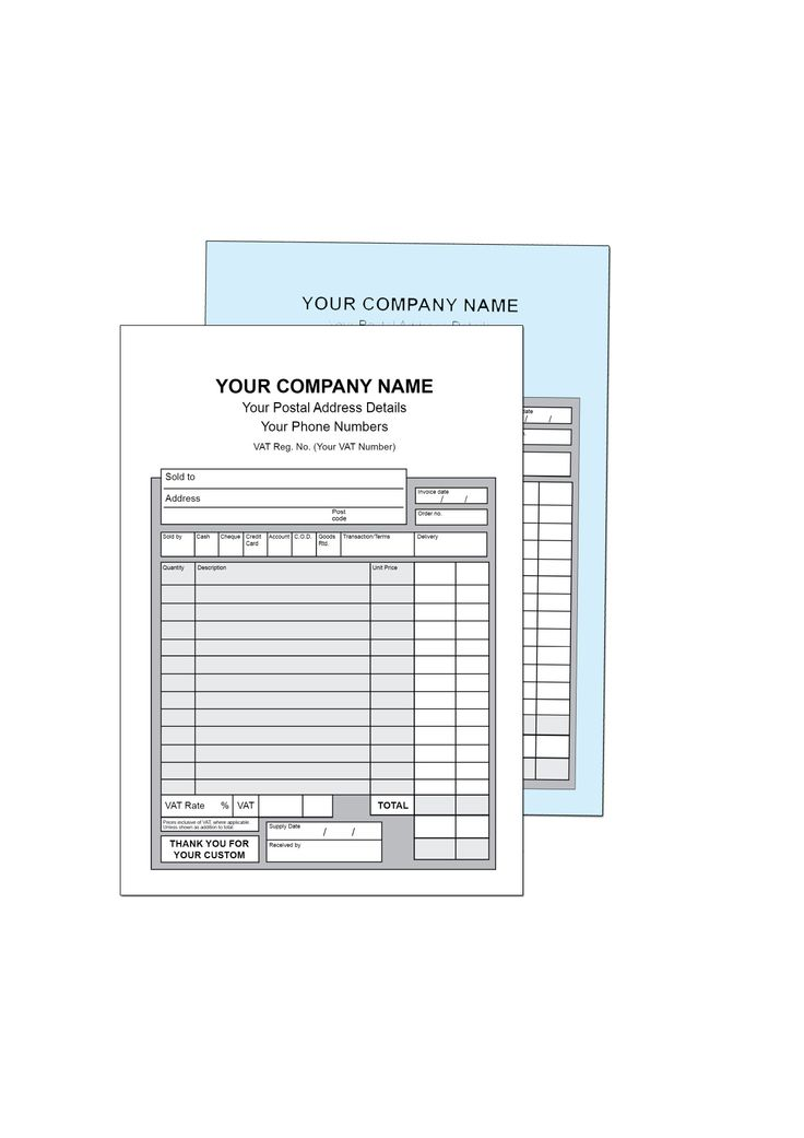 9 best NCR Invoice Pads \/ Books images on Pinterest Books - print invoice