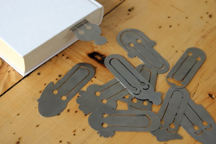 Lou stainless steel bookmark by Pilot Project