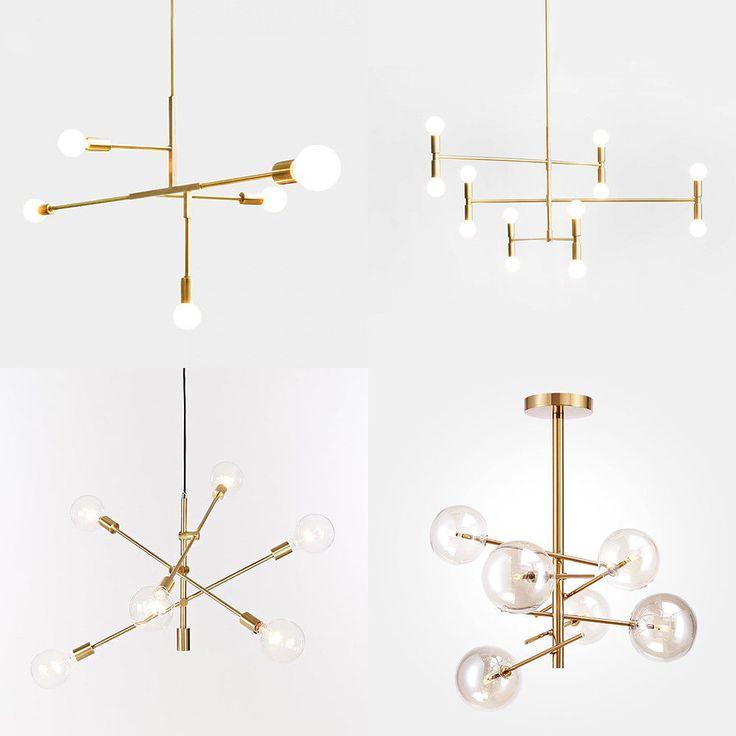 Candelabros Moderno Luz Colgante Iluminación Techo Luminarias De Metal Oro Industrial | Hogar y jardín, Lámparas, luces y ventiladores de techo, Candelabros y lámparas de techo | eBay!