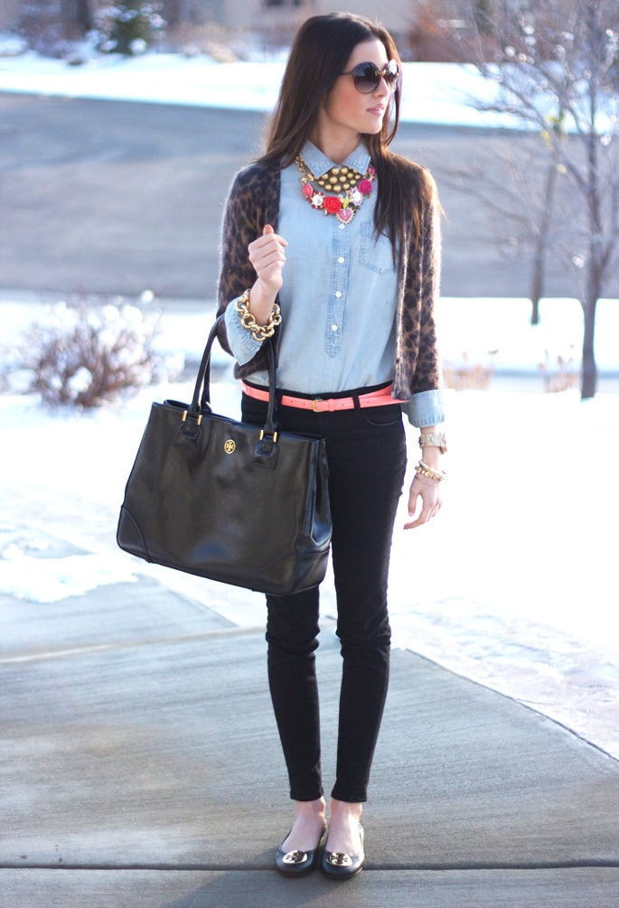 J Crew  Cardigans, Tory Burch  Flats and Tory Burch  Bags