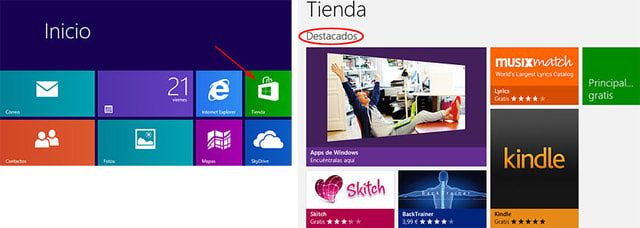 Instalar o desinstalar programas y apps en Windows 8