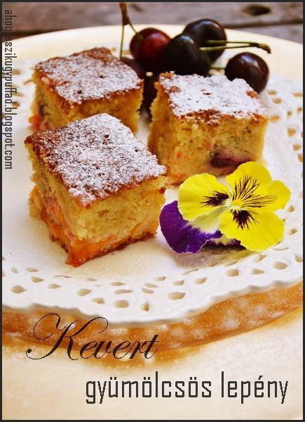 Gyümölcsös kevert sütemény - Receptek   Ízes Élet - Gasztronómia a mindennapokra