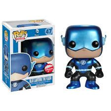 Metallic Blue Lantern Flash Fugitive Toys Exclusive Brought to you by Pop in a box, the UK Funko Pop! Vinyl shop. Add Blue Lantern: The Flash (Metallic) to your collection tracker today.