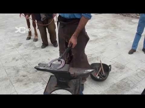 Curso herraje tradicional de caballos 6.8 - YouTube