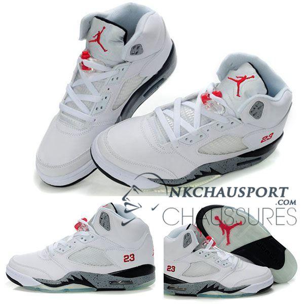 Nike Air Jordan 5 | Classique Chaussure De Basket Homme Air Jordan 5  Chaussure De Basket