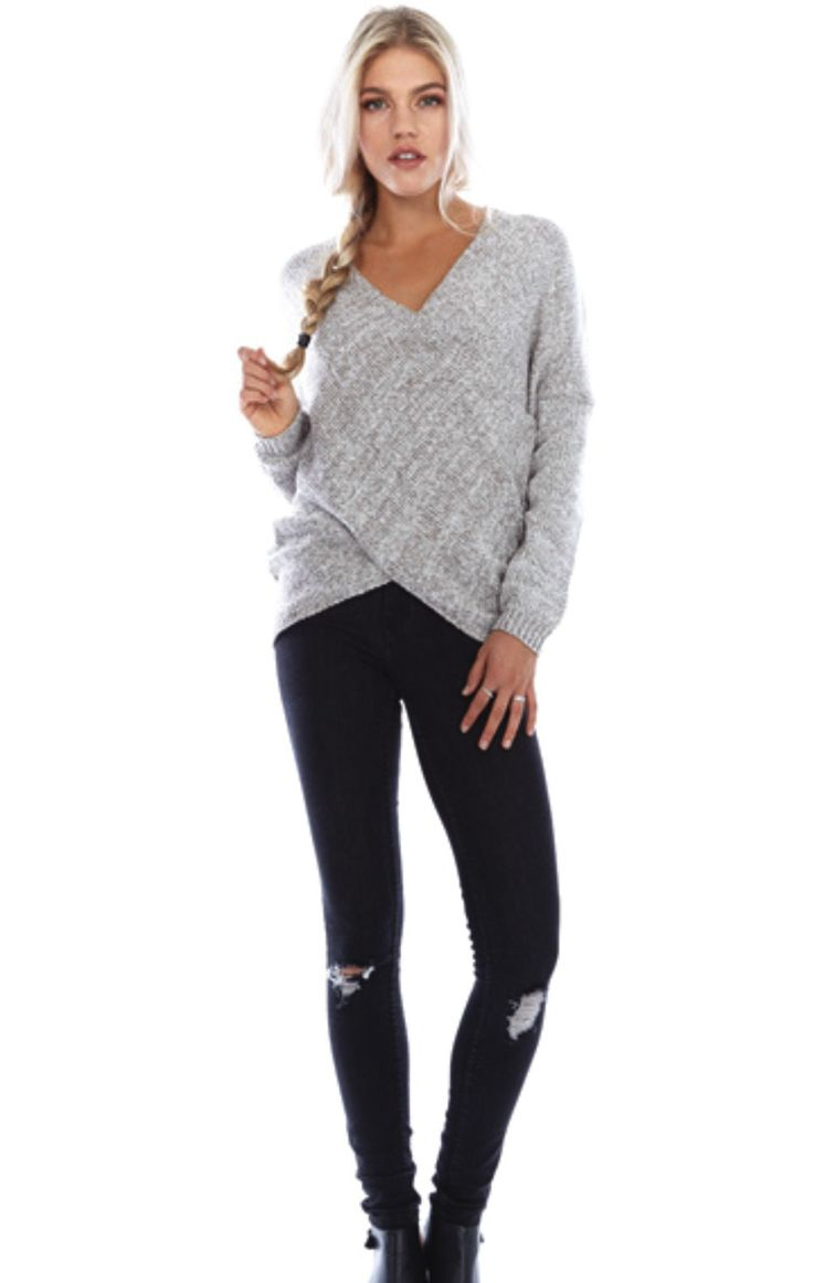 Hamptons Knit Sweater - Taupe