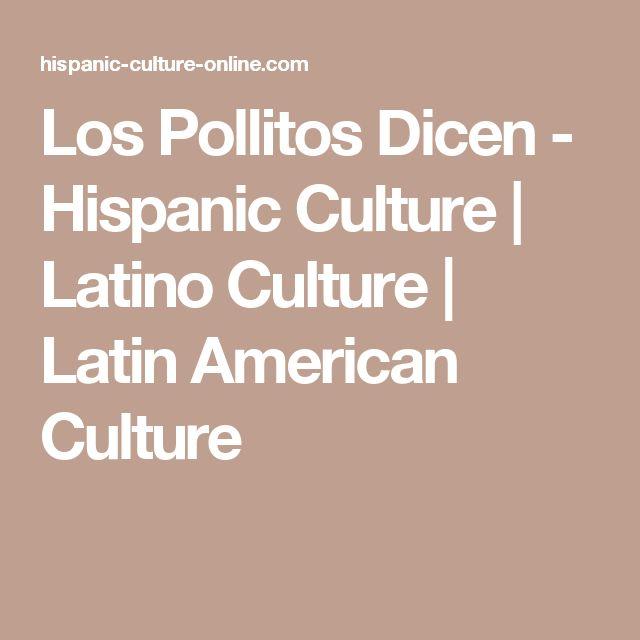 Los Pollitos Dicen - Hispanic Culture | Latino Culture | Latin American Culture