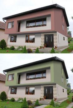 Redesign of facade, architecture by Artlandia