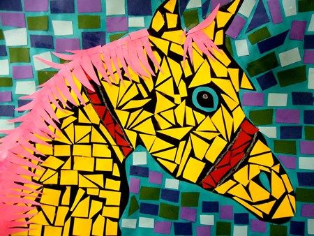 21 best Mosaics:Art Projects for Kids images on Pinterest | Art ...