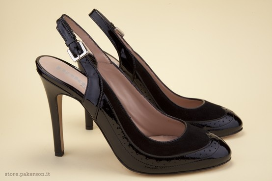 Handmade high-heel shoes: wear the beauty of Italian style. - Scarpe artigianali con i tacchi alti: indossate la bellezza dello stile Italiano. http://store.pakerson.it/high-heel-decolletes-27275-nero.html