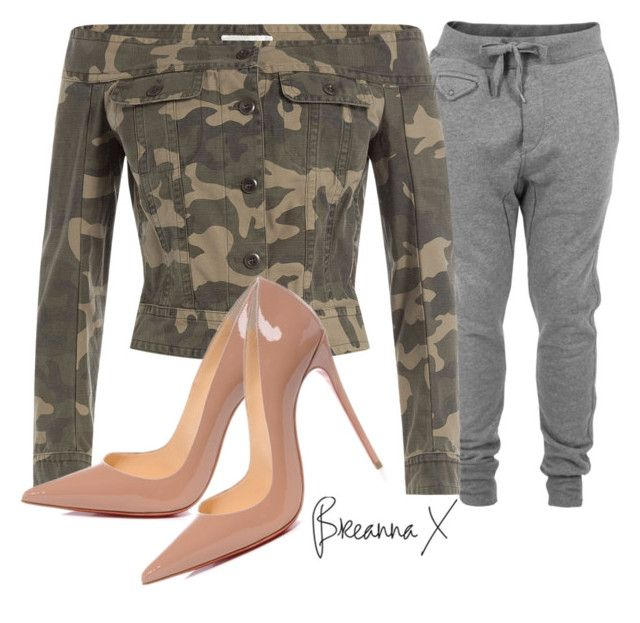 """Untitled #3030"" by breannamules ❤ liked on Polyvore featuring Diesel, Faith Connexion and Christian Louboutin"