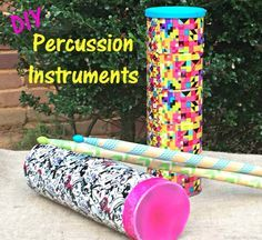 Pringles® not only taste great, their cans make great musical instruments! Learn how to make two DIY Percussion instruments: a rainstick and a balloon drum!