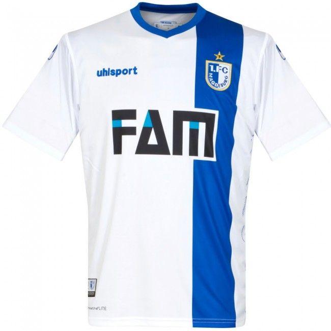 Camiseta del FC Magdeburg 2017-2018 Local #Magdeburg #shirts