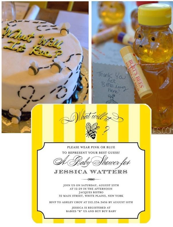 112 Best Bumble Bee Baby Shower Images On Pinterest