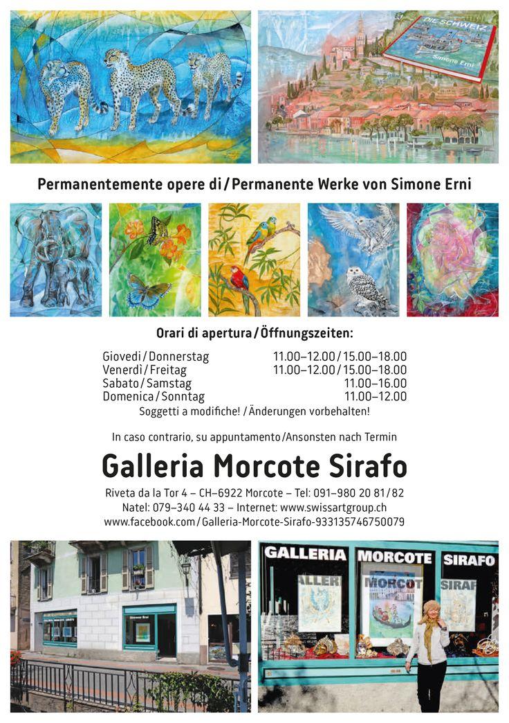 Gallery Morcote Fleyer  https://twitter.com/MorcoteSIRAFO