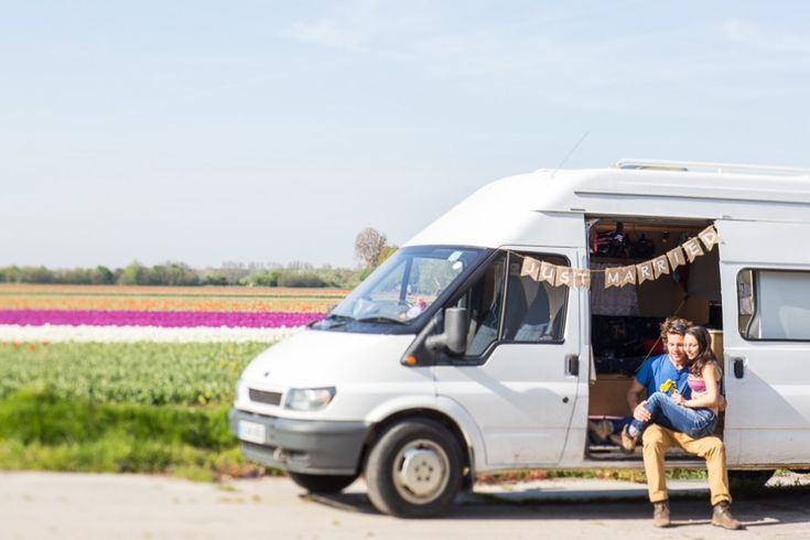 European honeymoon in a van!