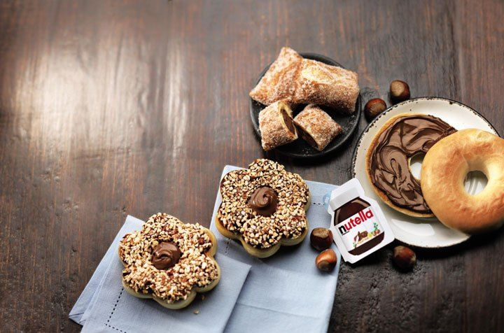 Nutella products will be rolling into Canadian Tim Hortons locations April 15 to June 9.