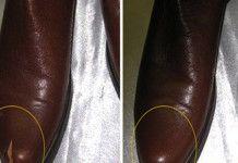 Kožené boty, tašky i pohovka budou vypadat jako nové! Trik který vás zbaví všech škrábanců!
