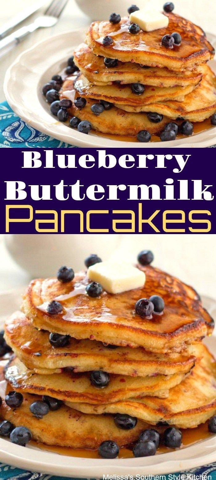 Blueberry Buttermilk Pancakes Melissassoutherns Blueberry Buttermilk Melis Pancake Recipe Buttermilk Blueberry Buttermilk Pancakes Buttermilk Recipes