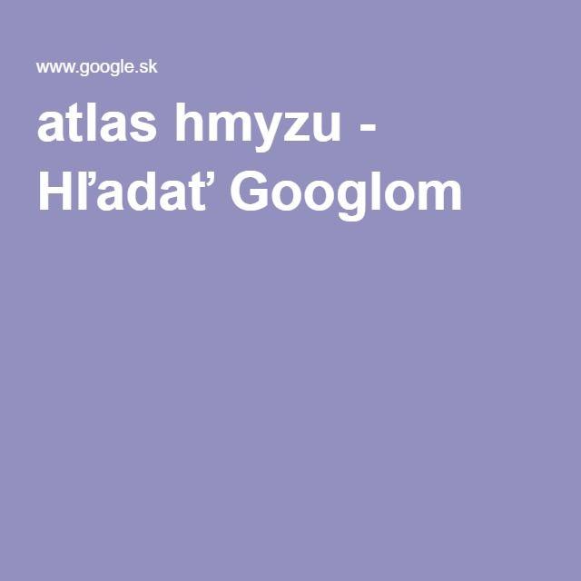 atlas hmyzu - Hľadať Googlom