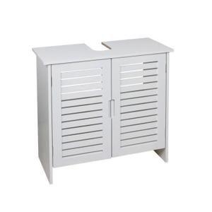 LINDA Meuble sous-lavabo 60 cm - Blanc