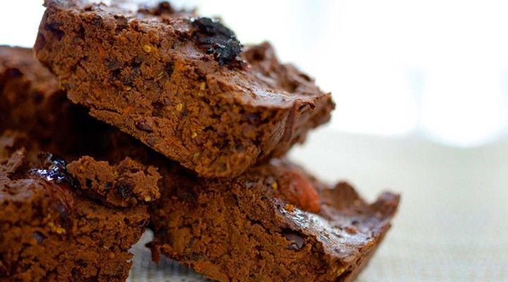 Blog: Veganistische Goji Fudge Proteïne Brownies