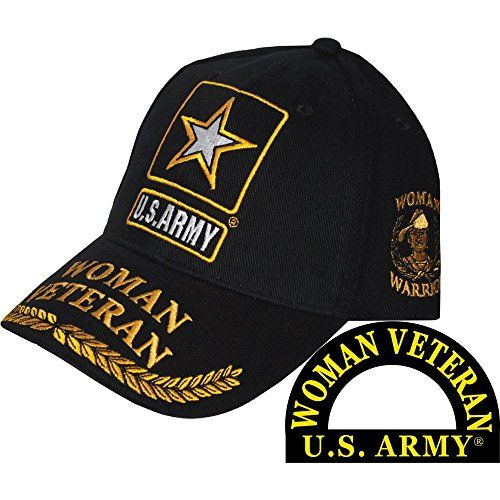 8272e079ef8 Buy FindingKing U.S. Army Woman Veteran Hat Black. Explore our Women  Fashion section featuring new