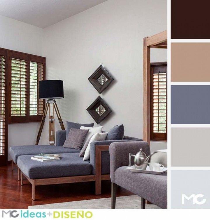 Las 25 mejores ideas sobre paletas de colores neutros en - Paleta de colores para paredes interiores ...