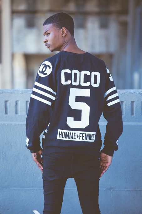 homme femmela coco hockey sweater only the best pinterest football chanel and jersey. Black Bedroom Furniture Sets. Home Design Ideas