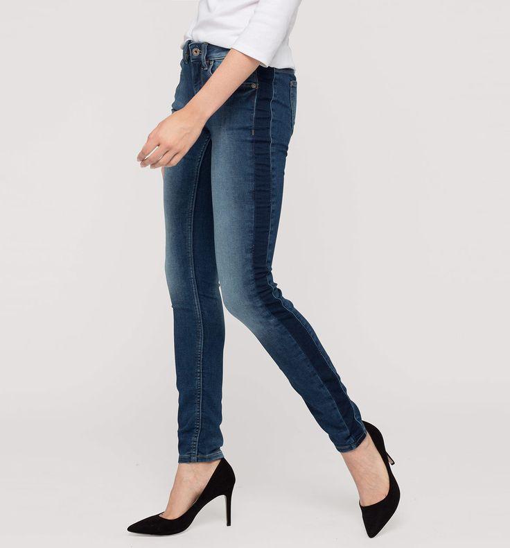 Sklep internetowy C&A | THE SKINNY, kolor:  dżins-niebieski | Dobra jakość w niskiej cenie