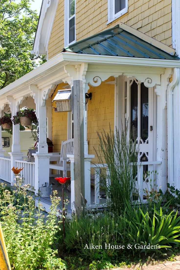 Aiken house gardens porch all things cottage pinterest for Aiken house