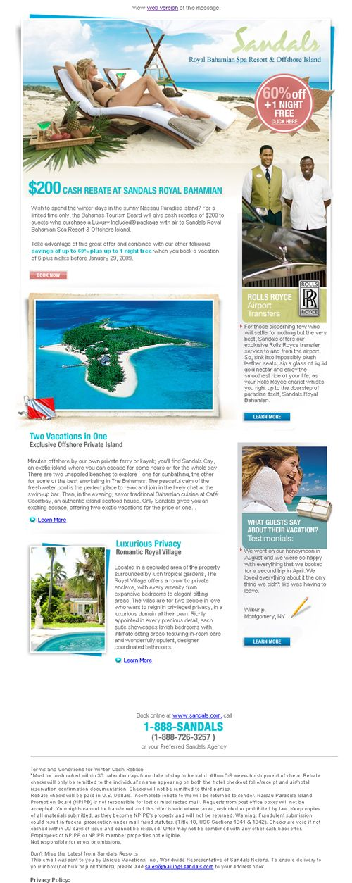 Best Hotel Newsletters Images On   Campaign Email