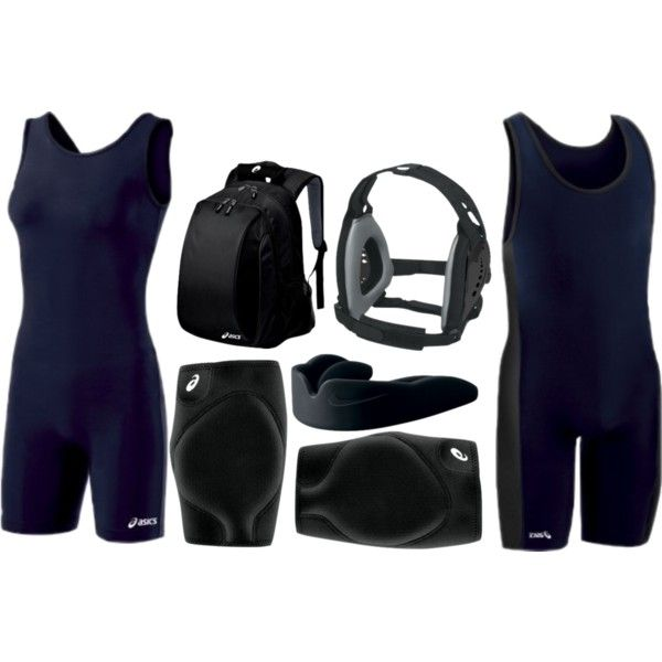 """""""Wrestling Uniform"""" by eappah on Polyvore"""
