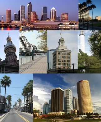 Tampa, Florida..love it..on the west side and on the Gulf of Mexico is a lil cleaner than the east side of Florida