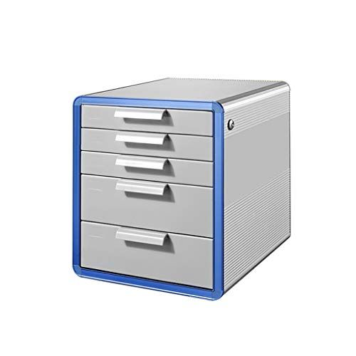 Aluminum Alloy Storage Drawers Desk
