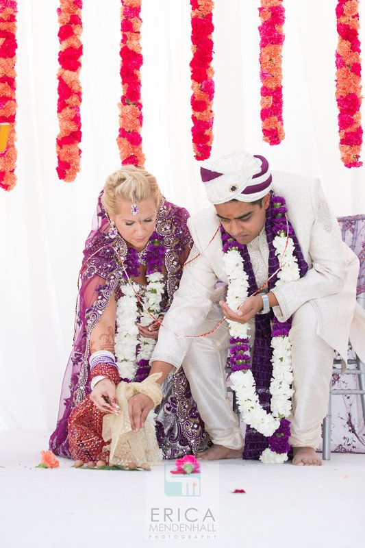 We Saw Samantha And Jay S Holi Powder Engagement Come See Their Colorful California Indian Wedding By Erica Mendenhall Photography