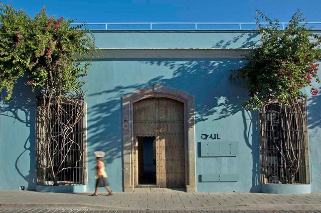 Azul Oaxaca Hotel in Mexico Esware Design