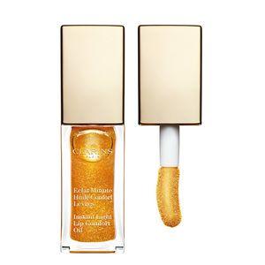 クラランス人気のリップオイルからゴールドグリッター入りの限定色が登場