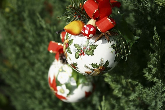 Christmas ball by handloved on Etsy