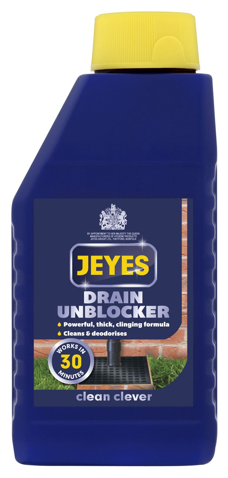 Unblock your drain with a Jeyes drain unblocker #Glee16