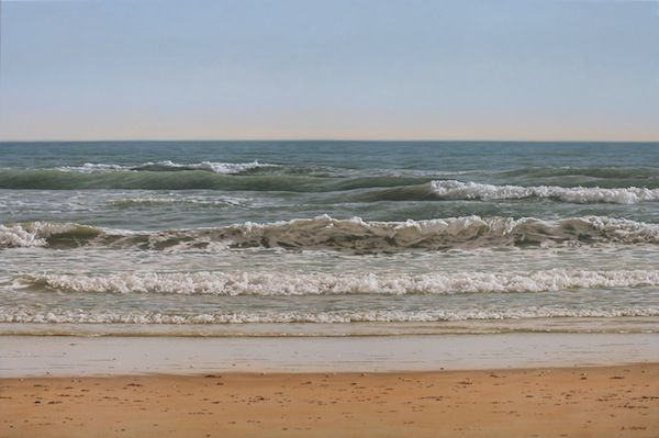 Sea, 54 x 81 cm, oil on canvas