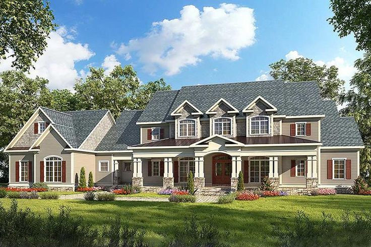Traditional Plan: 3,277 Square Feet, 4 Bedrooms, 4.5 Bathrooms - 6082-00013