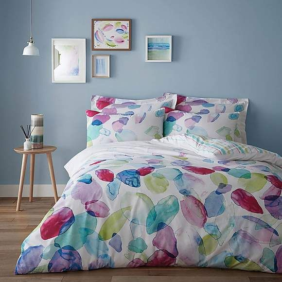 Duvet Covers BY Lino Cotton Collection Soft Plain Bed Spread Sweet Dreams Comfy